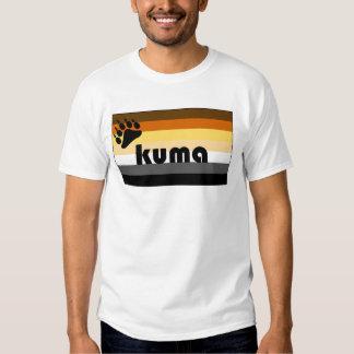 Japanese (Kuma) Gay Bear Pride Flag Shirt
