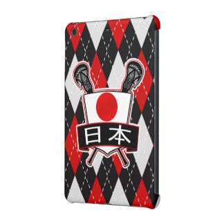 Japanese Lacrosse Logo iPad Cover