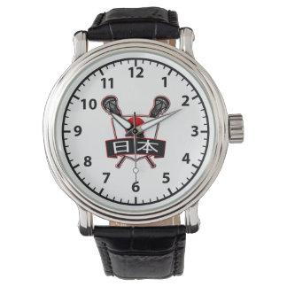 Japanese Lacrosse Logo Watch