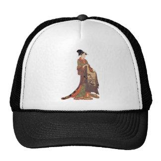 Japanese Lady Mesh Hat