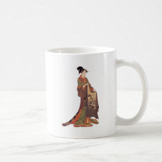 Japanese Lady Coffee Mugs