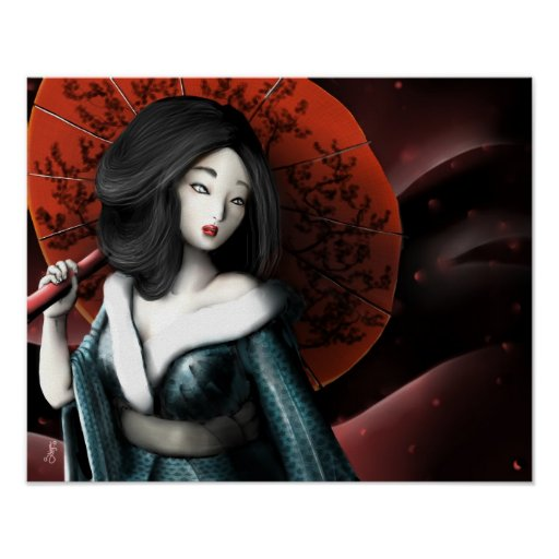 Japanese legend Taketori Monogatari Poster