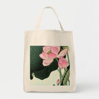 JAPANESE LOTUS FLOWER Tote Bag