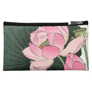 Japanese Lotus Flower Vintage Fine Art Bag