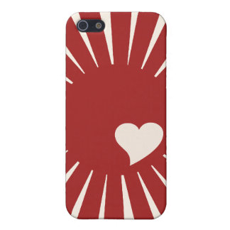 Japanese Love Heart iPhone 5 Case