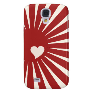 Japanese Love Heart Samsung Galaxy S4 Covers