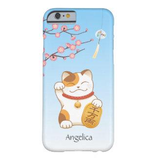 Japanese Lucky Cat, Calico Maneki Neko Barely There iPhone 6 Case
