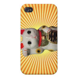 Japanese Lucky Cat MANEKI NEKO iPhone case Cover For iPhone 4