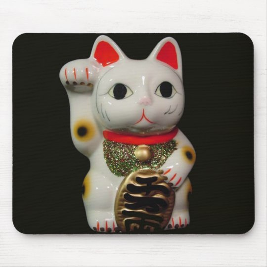 Japanese Lucky Cat MANEKI NEKO mouse pad