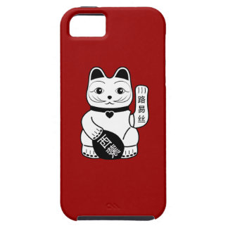 Japanese Lucky Cat Pictogram iPhone 5/5S Case