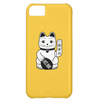 Japanese Lucky Cat Pictogram iPhone 5C Case