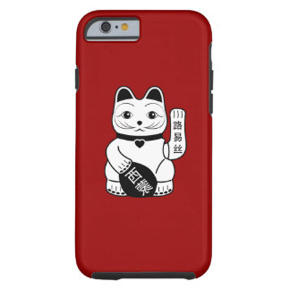 Japanese Lucky Cat Pictogram iPhone 6 Case Tough iPhone 6 Case