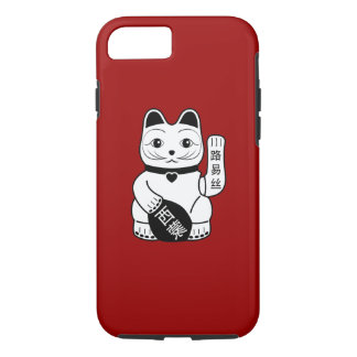 Japanese Lucky Cat Pictogram iPhone 7 Case