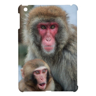 Japanese Macaque Monkeys iPad Mini Case