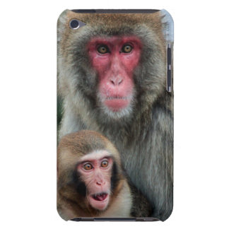 Japanese Macaque Monkeys iPod Touch Case
