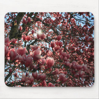 Japanese Magnolia Mouse Pads