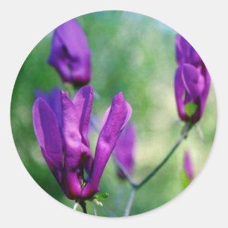 Japanese Magnolia Round Sticker
