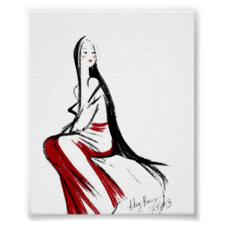Japanese Maiden Poster