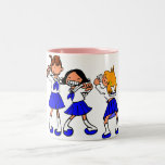 Japanese MANGA high-school girls Coffee Mug