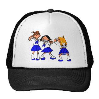 Japanese MANGA high-school girls Trucker Hat