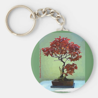 Japanese Maple Key Ring