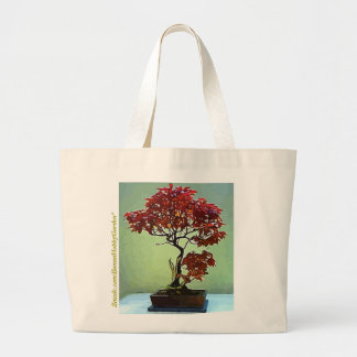 Japanese Maple Large Tote Bag
