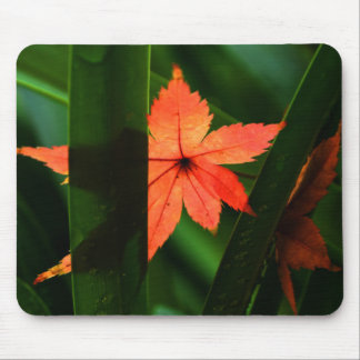 Japanese Maple Leaf Mouse Mat
