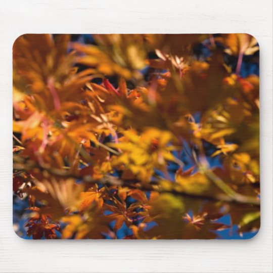 Japanese Maple Leaves Mouse Mat