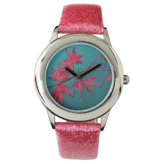 Japanese Maple Wrist Watches