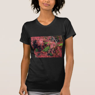 Japanese Maples Leaves carpet the soil T Shirts
