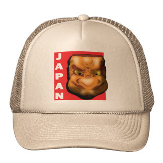 JAPANESE MASK MESH HATS