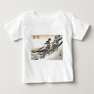 Japanese men and Snowscape no.1 Baby T-Shirt