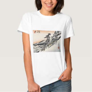 Japanese men and Snowscape no.1 T Shirts