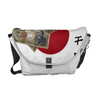 Japanese Money Messenger Bag