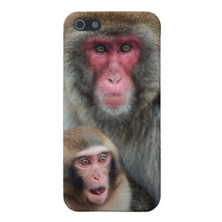 Japanese Monkeys iPhone 5 Matte Finish Case iPhone 5 Cover