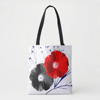 Japanese Morning Glory Tote Bag