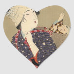 JAPANESE MOTHER and BABY STICKER