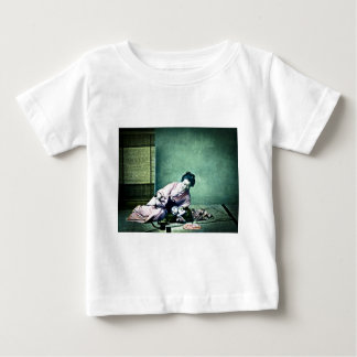 Japanese Mother and Baby Vintage Magic Lantern Baby T-Shirt