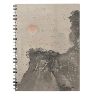 Japanese Mountain | Spiral Notebook