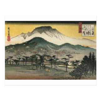 Japanese Mountains circa 1800's Postcard