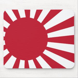 Japanese Navy Flag Mousepads