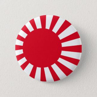 Japanese Navy Flag T-shirts and Apparel 6 Cm Round Badge