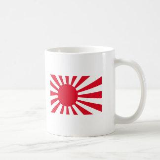 Japanese Navy Flag T-shirts and Apparel Basic White Mug