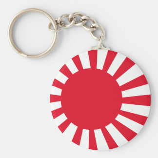 Japanese Navy Flag T-shirts and Apparel Key Ring