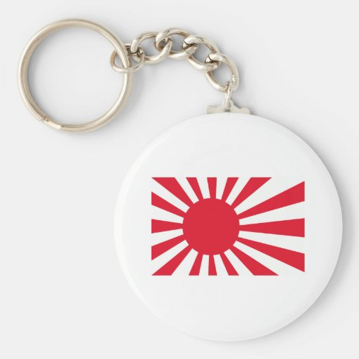 Japanese Navy Flag T-shirts and Apparel Key Chain