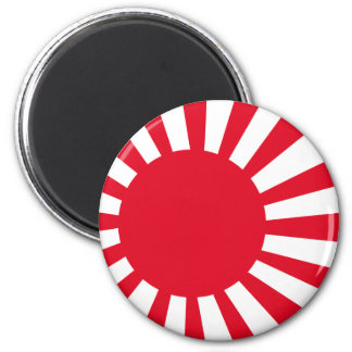 Japanese Navy Flag T-shirts and Apparel 6 Cm Round Magnet