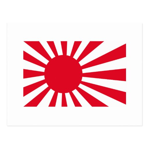 Japanese Navy Flag T-shirts and Apparel Post Cards