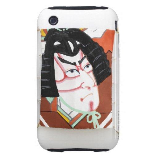 Japanese New Year decoration Tough iPhone 3 Case