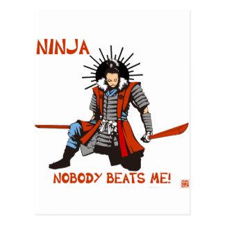 Japanese NINJA ninja Postcard