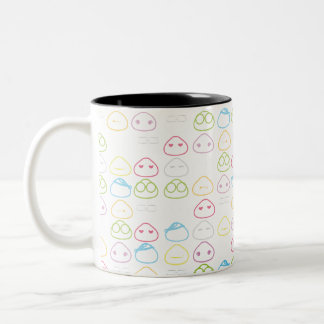 Japanese Onigiri Fluo Pattern Coffee Mugs